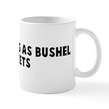 Hands as big as bushel basket Mug