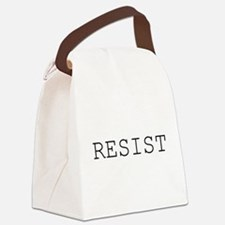 Cute Political Canvas Lunch Bag