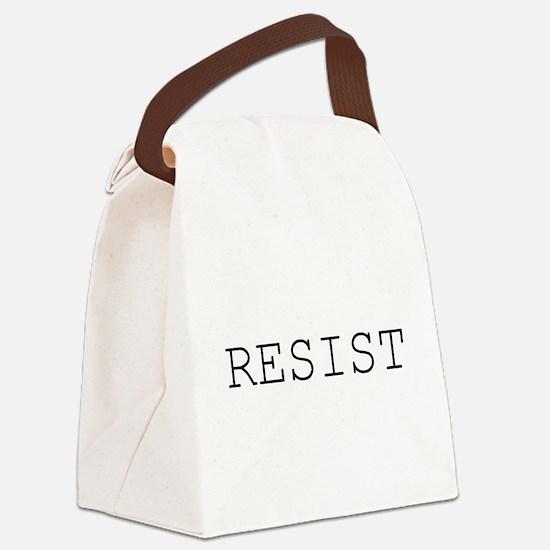 Cute Political Canvas Lunch Bag