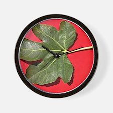 Cute Fig Wall Clock