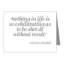 Unique Churchill Note Cards (Pk of 10)