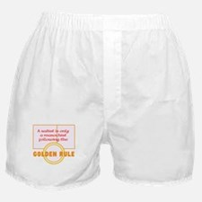A Sadist Is Only A Masochist Boxer Shorts