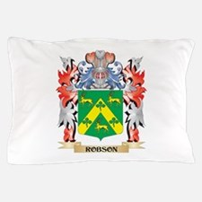 Robson Coat of Arms - Family Crest Pillow Case