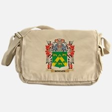 Robson Coat of Arms - Family Crest Messenger Bag