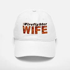 FIREFIGHTER WIFE Baseball Baseball Baseball Cap