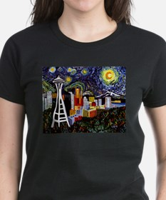 Seattle Starry Nigh T-Shirt