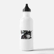 Black Wolf Water Bottle