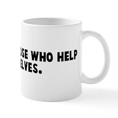 God helps those who help them Mug