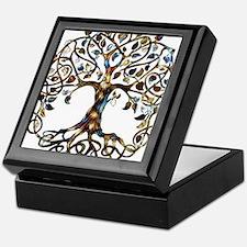 Brown_Tree_Of_Life Keepsake Box