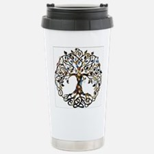 Brown_Tree_Of_Life Travel Mug