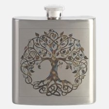 Brown_Tree_Of_Life Flask