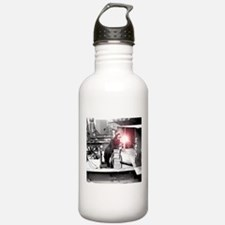 Vintage Female Worker Water Bottle