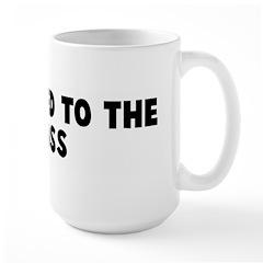 Get nailed to the cross Large Mug