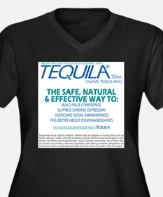Tequila back Plus Size T-Shirt
