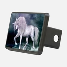 Wonderful unicorn on the beach Hitch Cover