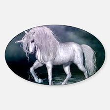 Wonderful unicorn on the beach Decal