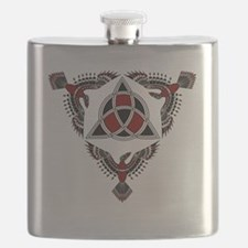 Red Raven Protectors Flask