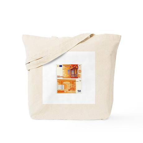 50 Euros Tote Bag
