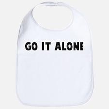 Go it alone Bib