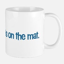 Cat on the Mat Mug