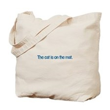 Cat on the Mat Tote Bag