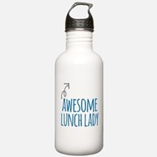 Awesome lunch lady Water Bottle