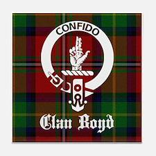 Cute Clans of scotland Tile Coaster