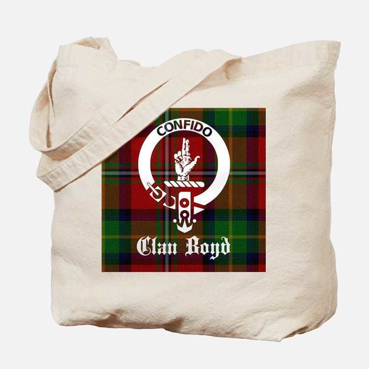 Cute Scottish family tartan Tote Bag
