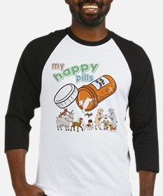 Goats | My Happy Pills GetYerGoat Baseball Jersey