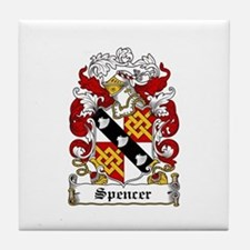 Spencer Coat of Arms Tile Coaster