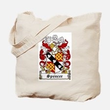 Spencer Coat of Arms Tote Bag