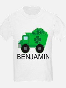 Personalized St Patricks Day Irish Truck T-Shirt