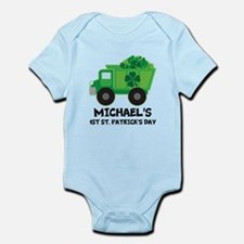 Personalized 1st St Patricks Day Body Suit