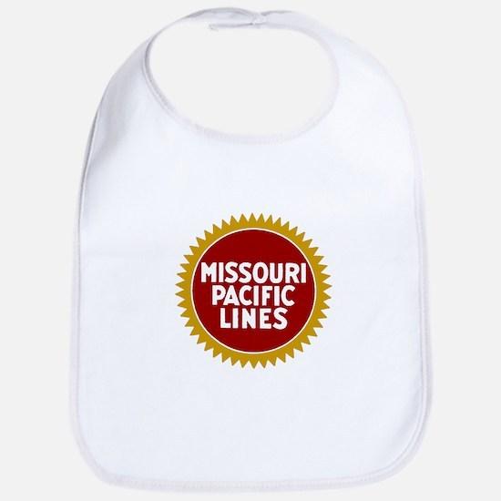 Missouri Pacific Railroad Baby Bib