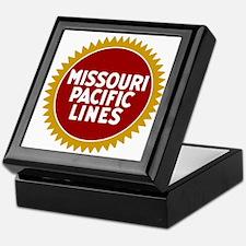Missouri Pacific Railroad Keepsake Box