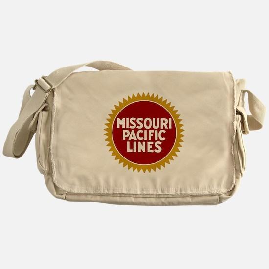 Missouri Pacific Railroad Messenger Bag