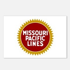 Missouri Pacific Railroad Postcards (Package of 8)