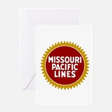 Missouri Pacific Railroad Greeting Cards