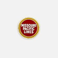 Missouri Pacific Railroad Mini Button