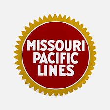 Missouri Pacific Railroad Button