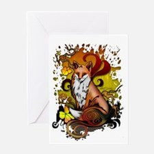 Outdoor Fox Greeting Cards