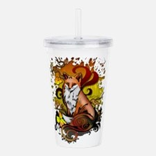 Outdoor Fox Acrylic Double-wall Tumbler