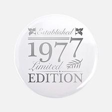 Unique Cute 40th birthday Button