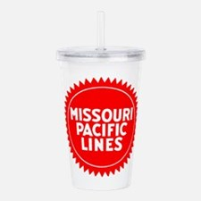 The Mop Railroad Acrylic Double-wall Tumbler