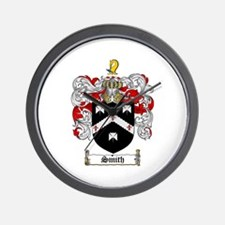 Smith Coat of Arms Wall Clock