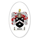 Smith Coat of Arms Oval Sticker