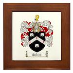Smith Coat of Arms Framed Tile