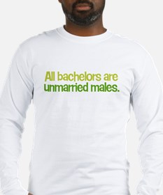 All Bachelors Long Sleeve T-Shirt