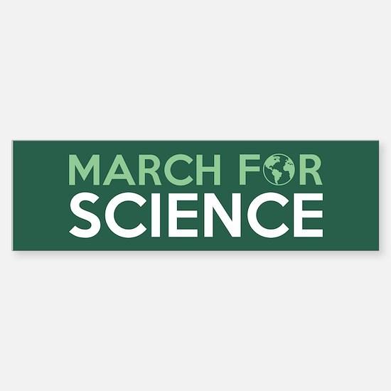 March For Science Bumper Bumper Bumper Sticker