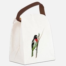 Rose-breasted grosbeak Canvas Lunch Bag